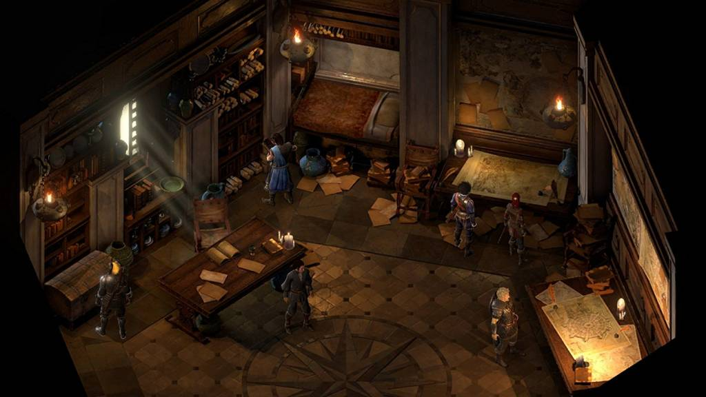 In-game screenshot from an innkeeper in Pillars of Eternity