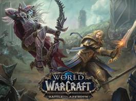 Official artwork for World of Warcraft Battle for Azeroth