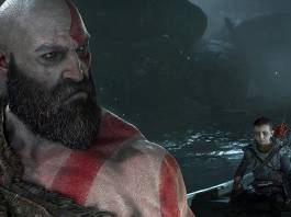 God of War 4 ingame screenshot