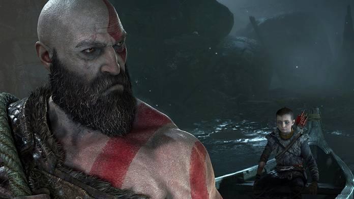 God of War 4 ingame screenshot