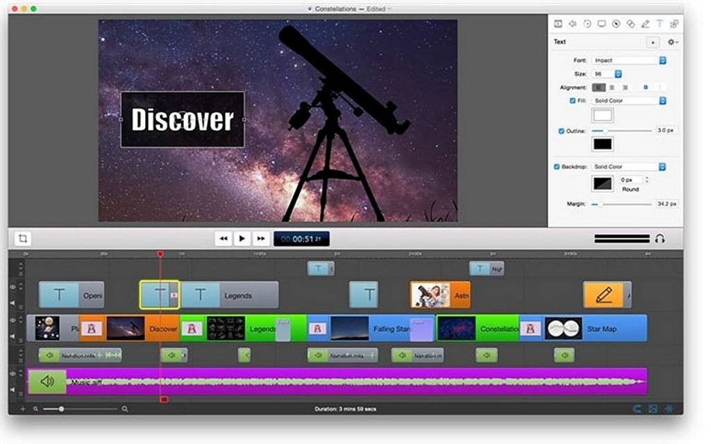 Screenshot from ScreenFlow professional mac screen recorder