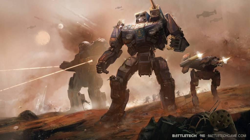 new wallpaper for Battletech pc game