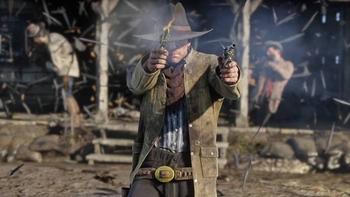 Early screenshot from Red Dead Redemption 2
