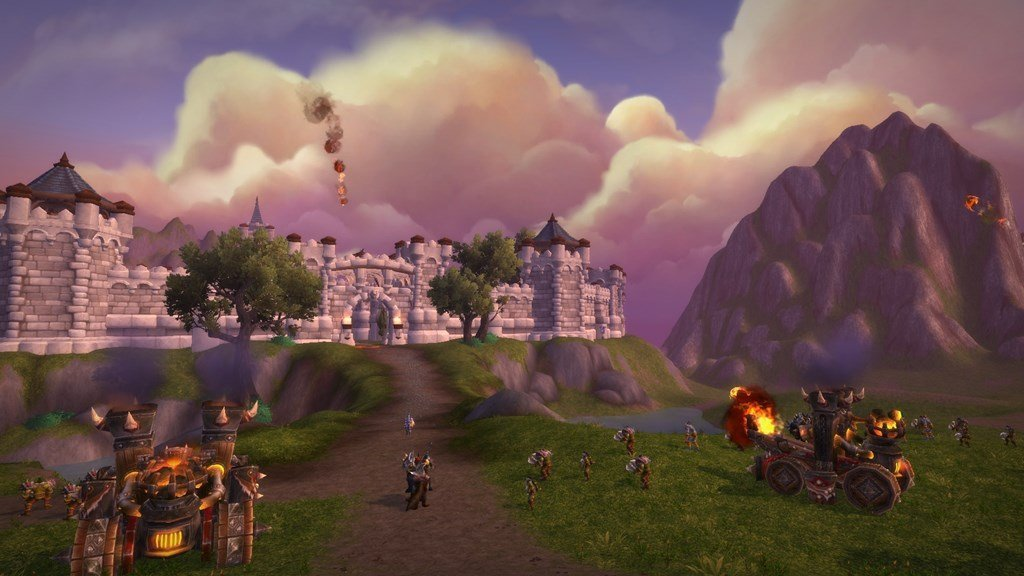 Screenshot from a Warfront In Battle for Azeroth
