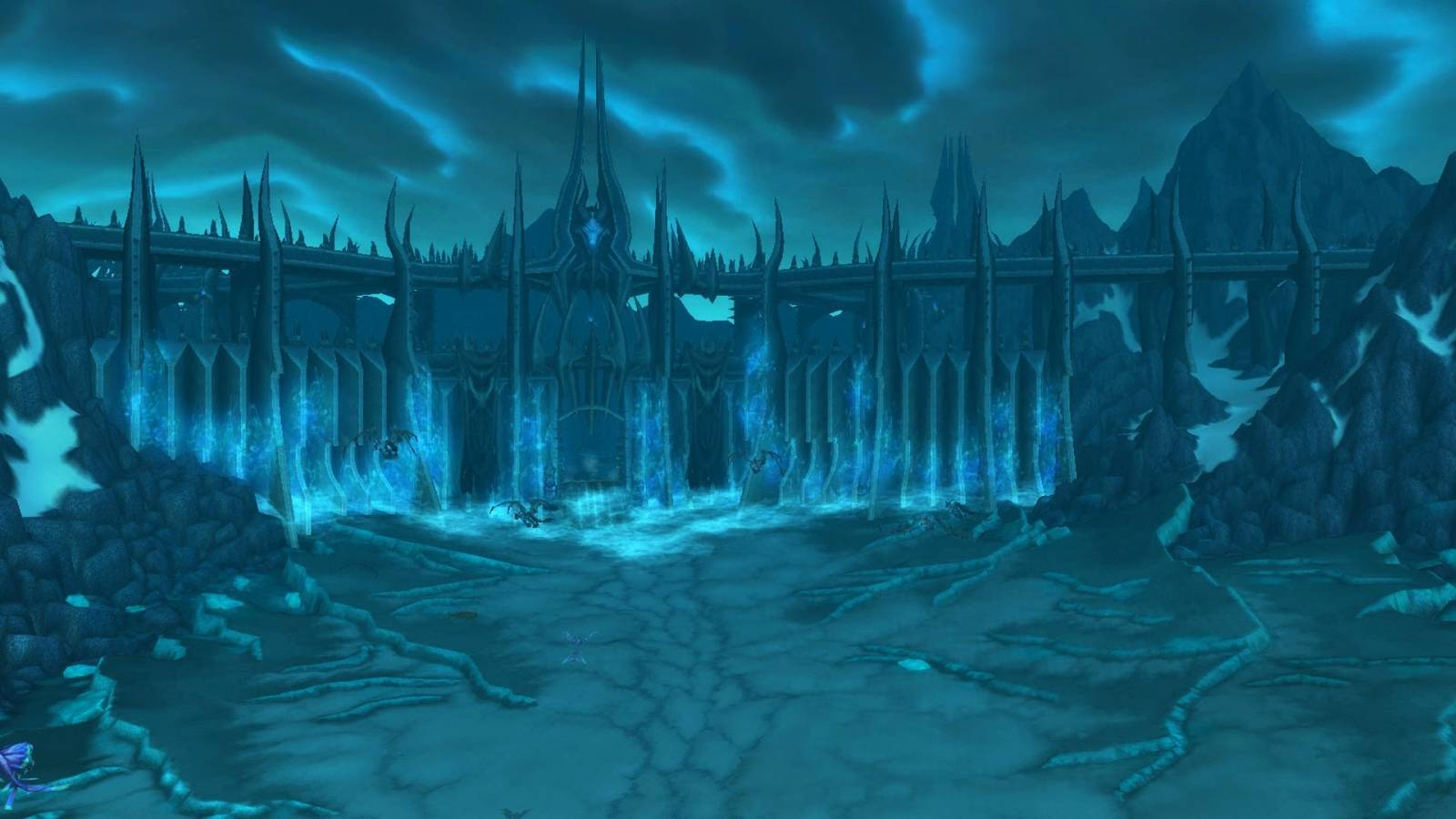 in-game screenshot of icecrown citadel