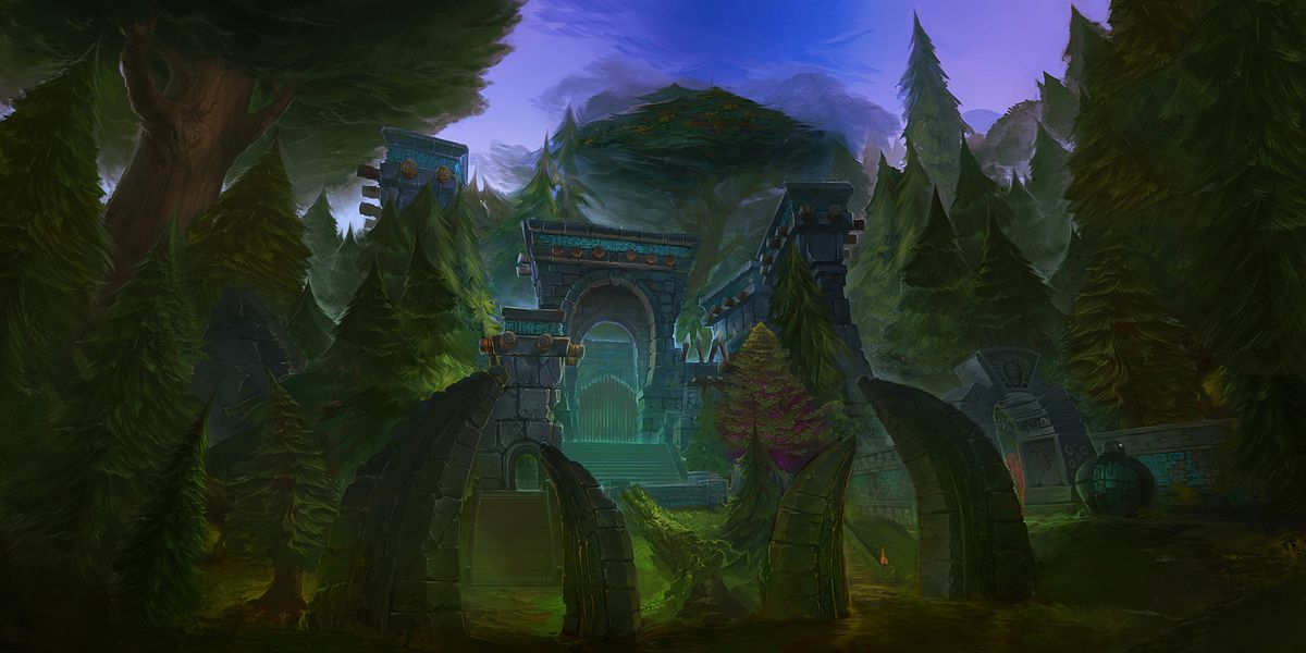 Image of Zul'aman in the Warcraft universe