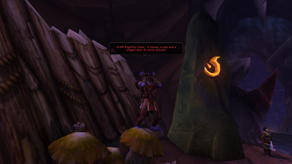 Image of summoning stone in Wow