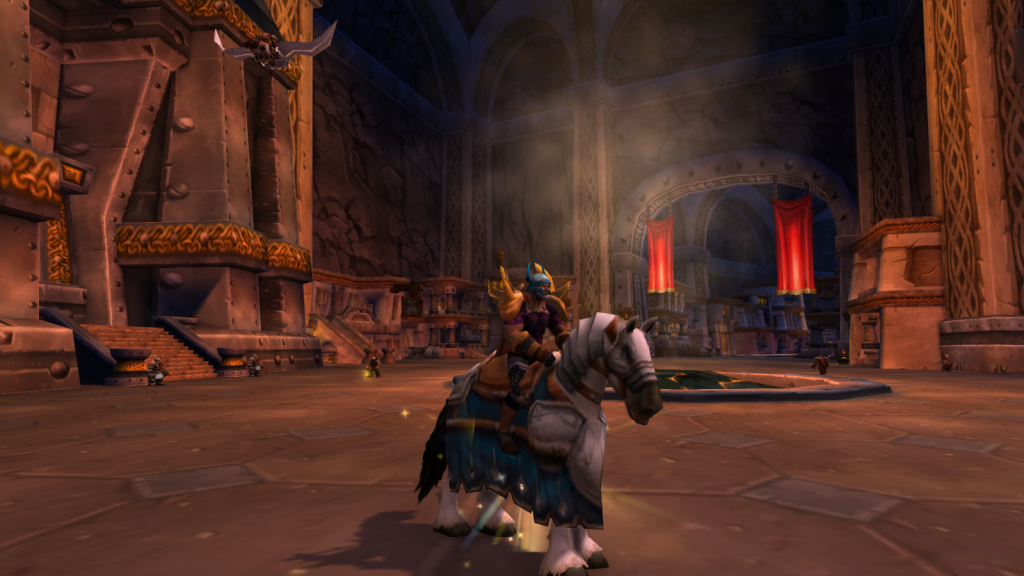 Screenshot of my Paladin without Transmorg