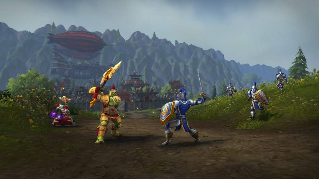 Screenshot from Warfronts in Battle for Azeroth