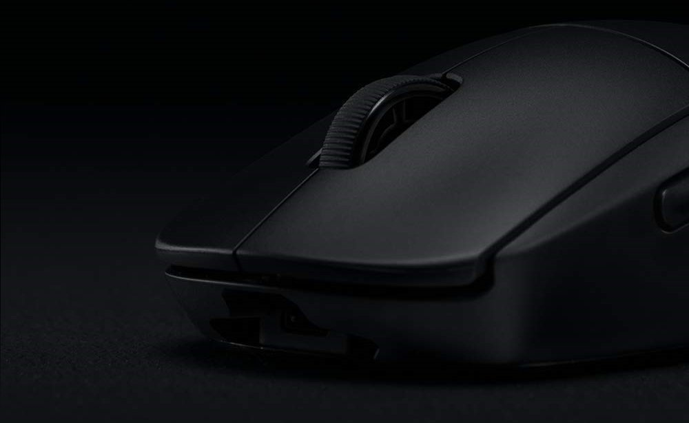 Image of wireless Logitech Mouse pro