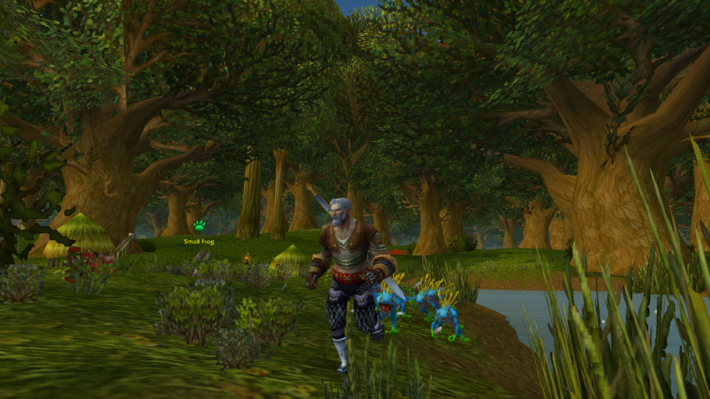 Screenshot of Elwyn forest in World of Warcraft
