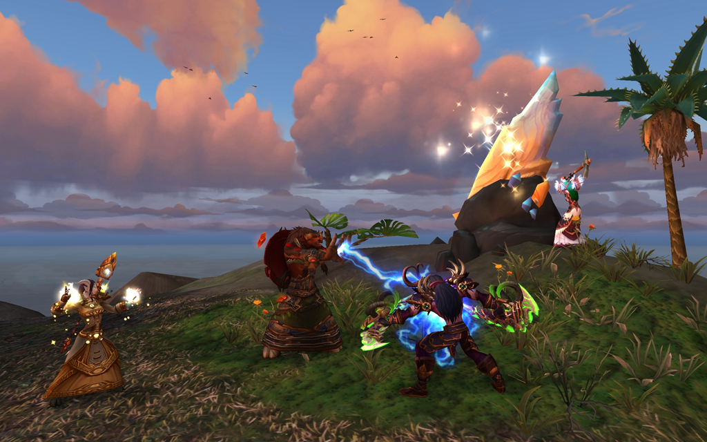 Screenshot from wow Island expeditions
