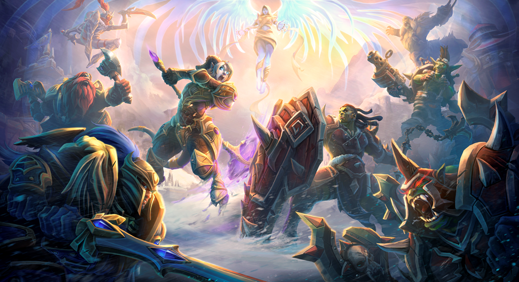 Official artwork for Heroes of the Storm
