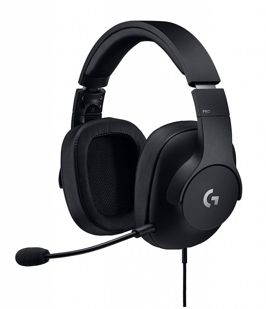 Image of G Pro headphones by Logitech