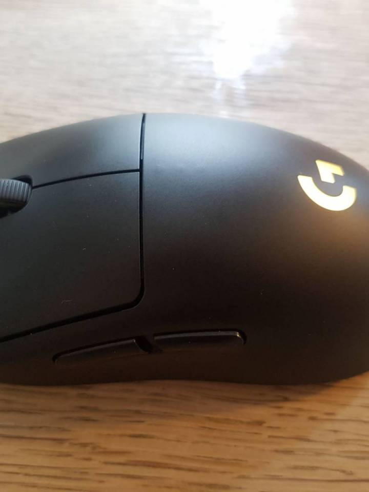 Image of the latest G Pro mouse
