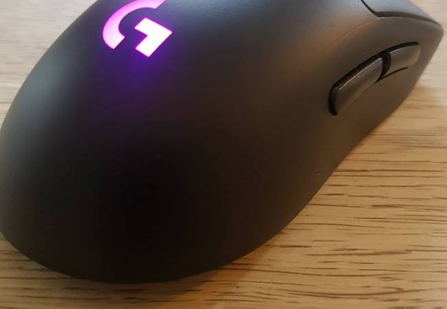 Image of logitech professional mouse