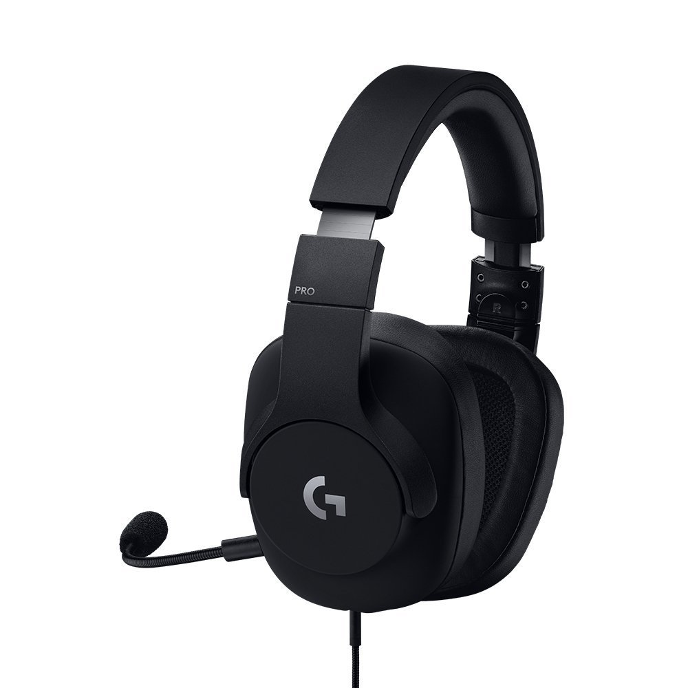 Image taken from the side of the G Pro headset