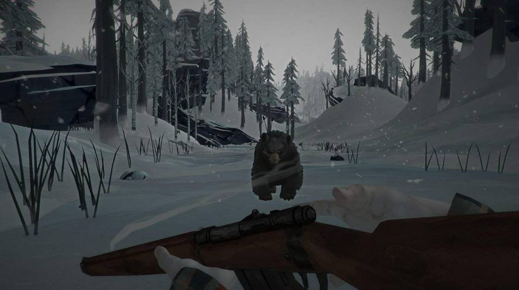 Screenshot from the Long Dark game