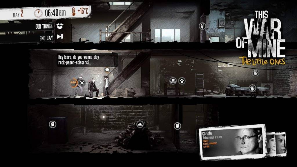 screenshot from This war of mine PC game
