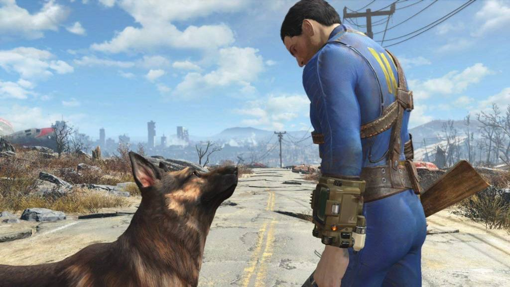 Screenshot from Fallout 4 rpg