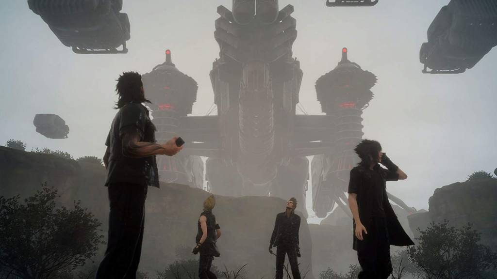 Screenshot from Final Fantasy 15 game