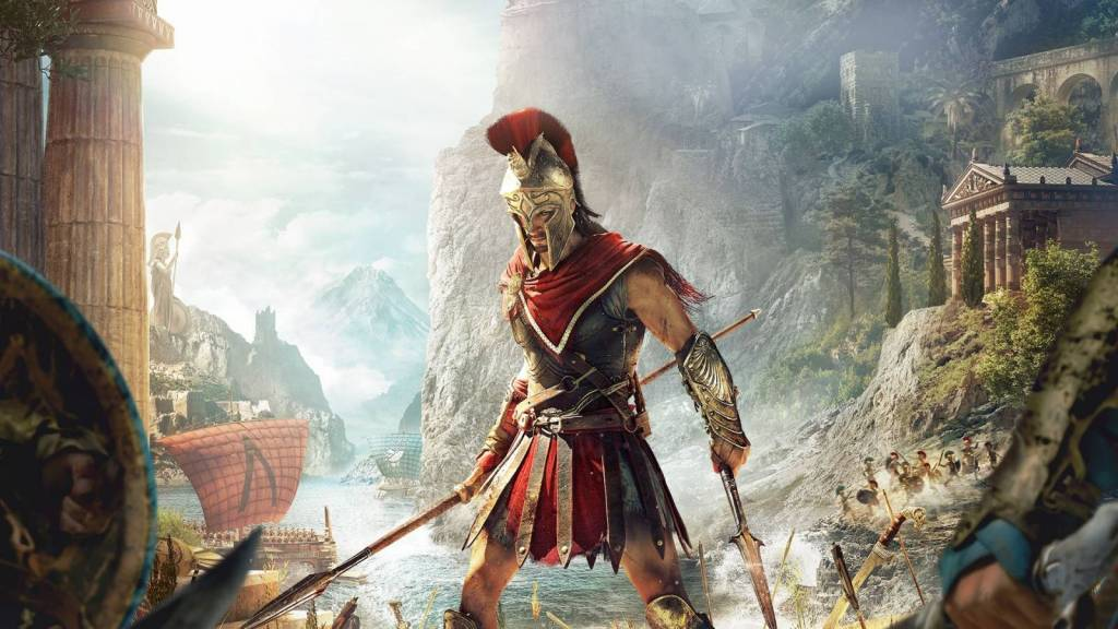 Assassins creed odyssey Alexios wallpaper