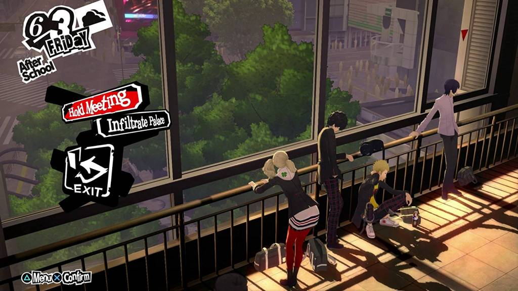 In-game screenshot from Persona 5