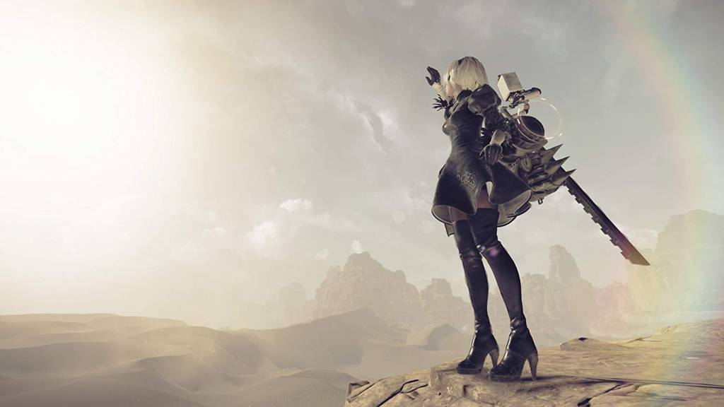 Screenshot from Nier Automata
