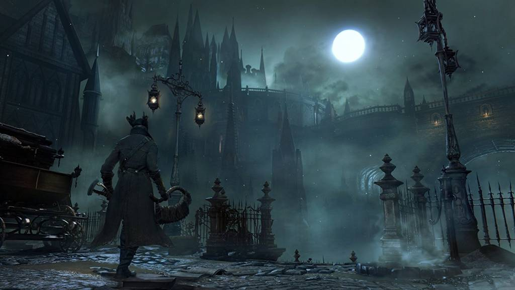Screenshot from Bloodborne Playstation game