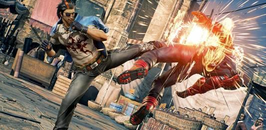 Screenshot from Tekken 7