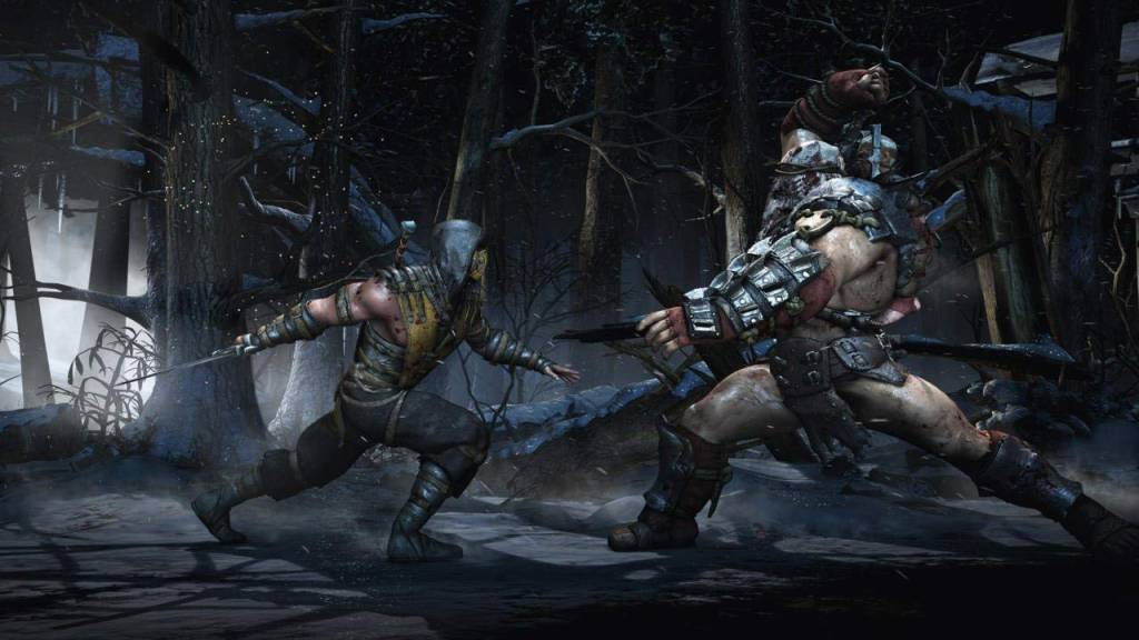 Screenshot from Mortal Kombat 10
