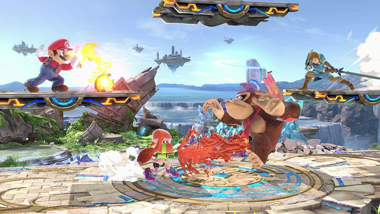 Screenshot from Super Smash Bros Ultimate