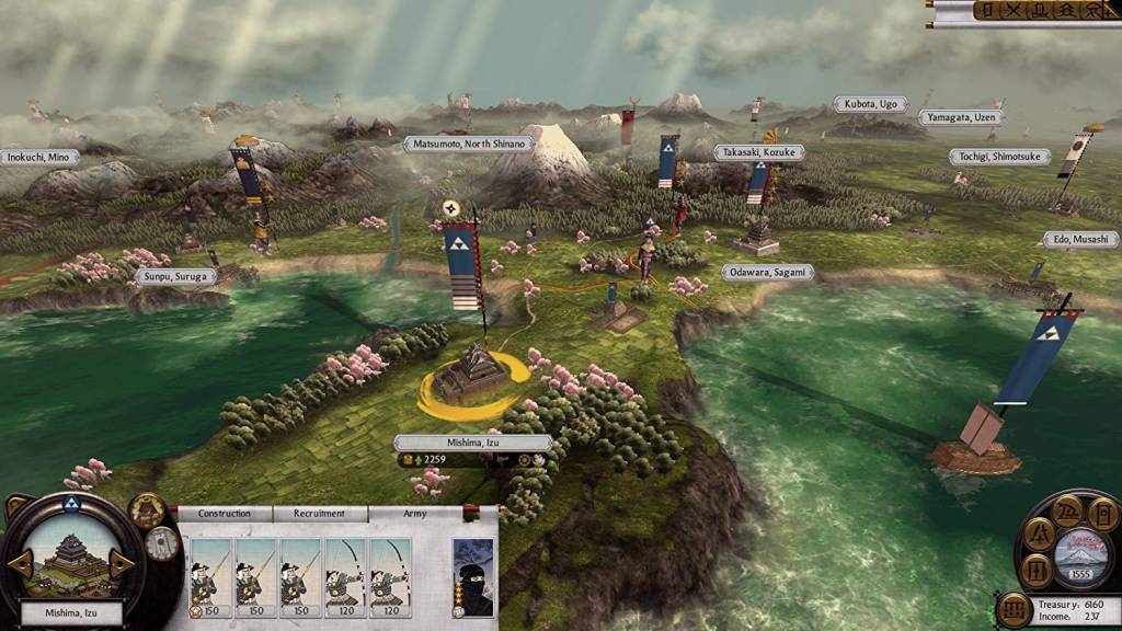 Screenshot from Total War Shogun 2