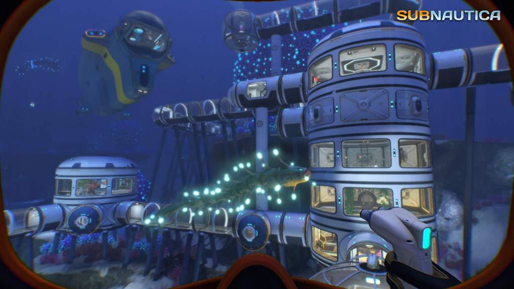 Screenshot from Subnautica ps game