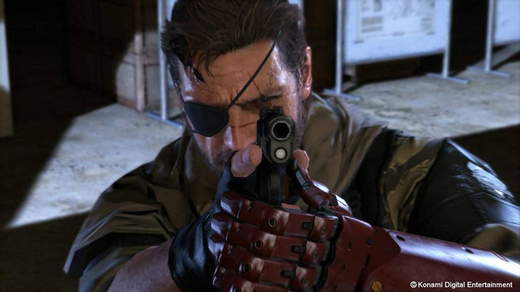 Screenshot of Big Boss from Metal Gear Solid 5