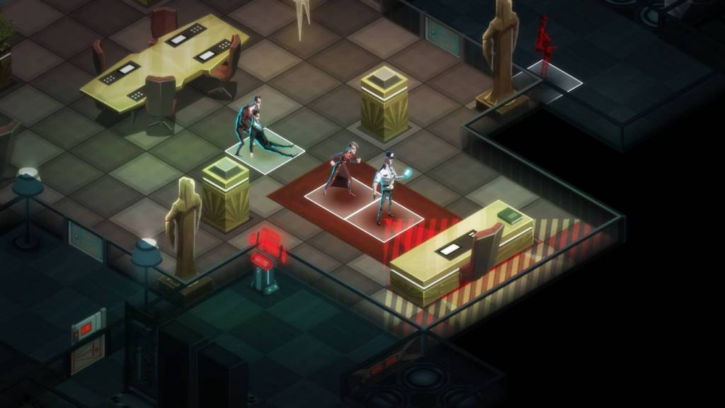 Screenshot from Steam game Invisible Inc