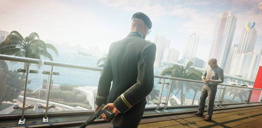 Screenshot from Hitman 2 mission