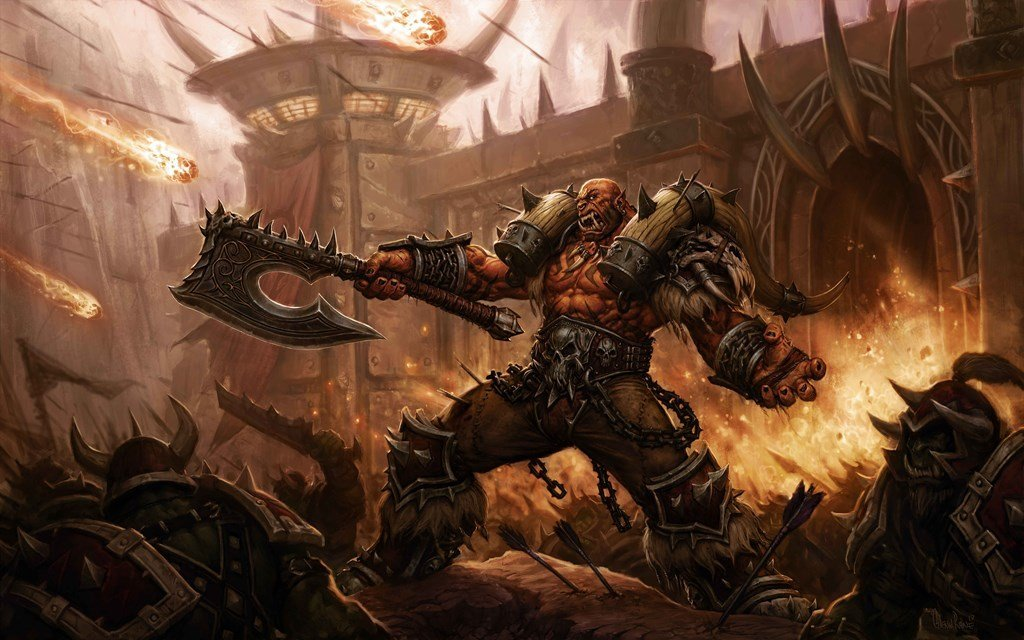 World of Warcraft patch 5.4 artwork
