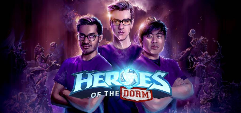 Official Heroes of the Dorm Wallpaper