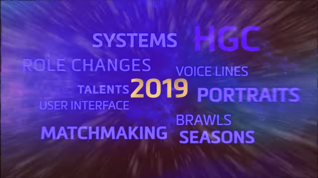 Image from Blizzcon 2018 heroes of the storm trailer