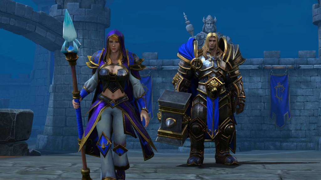 Image from Warcraft 3 reforged intro demo