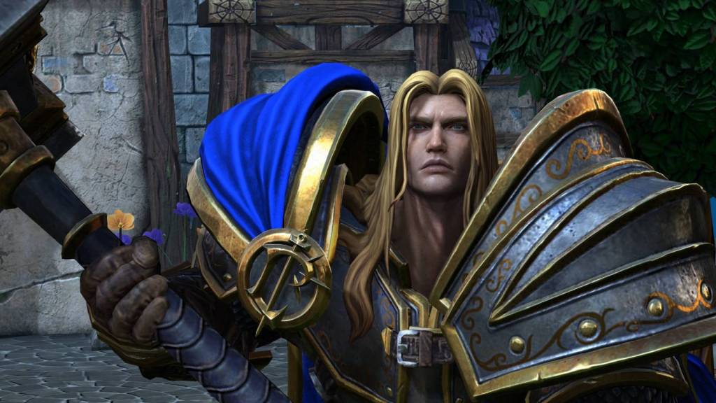 Still of Arthas at the Culling of Stratholme