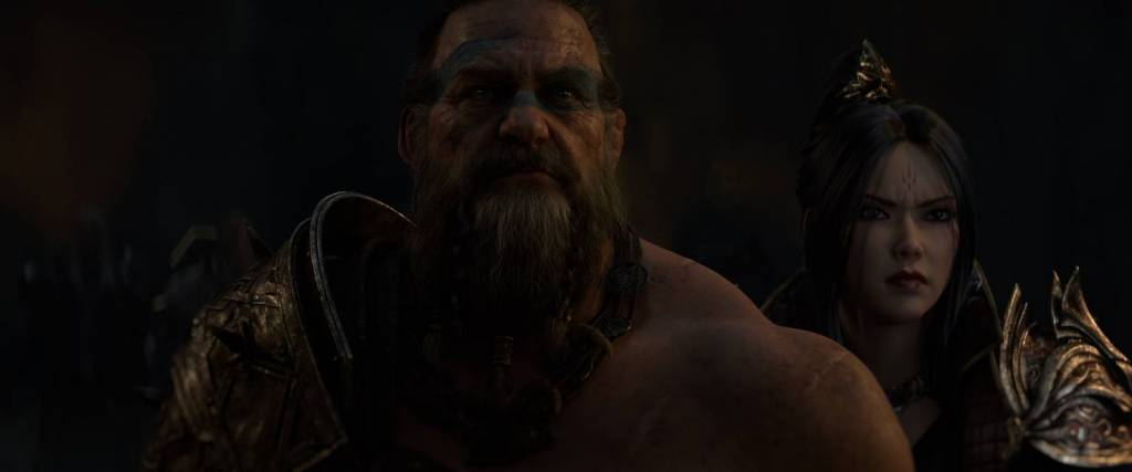 Still from the Diablo Immortal trailer