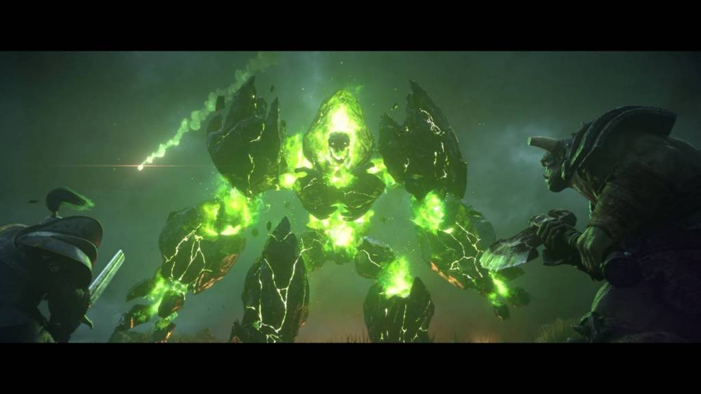 Still from Warcraft 3 reforged cinematic trailer