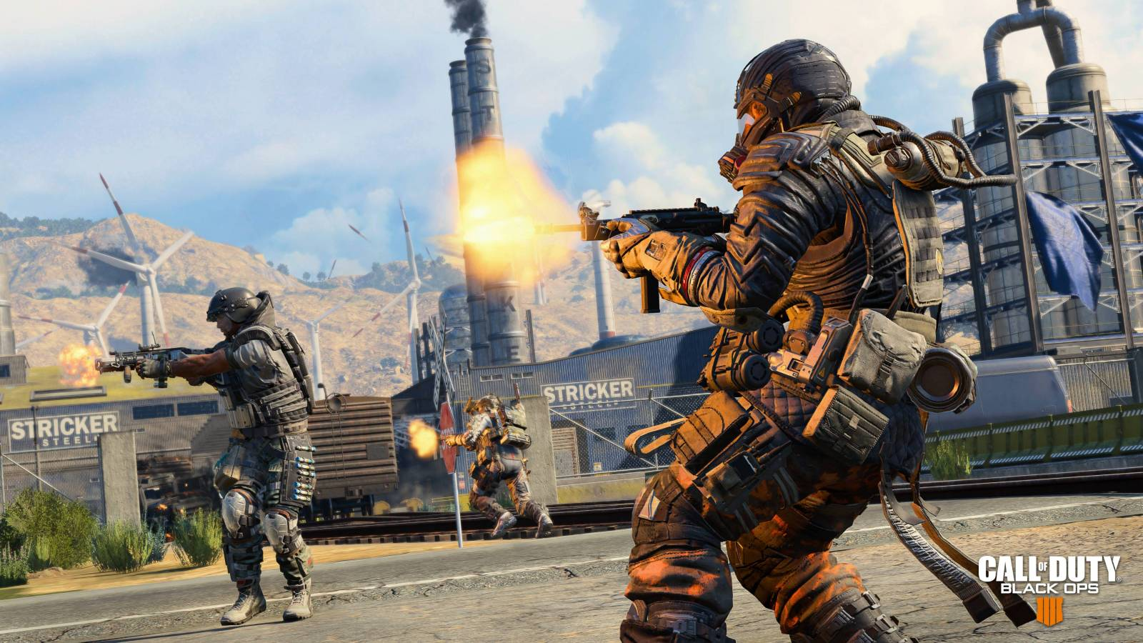 Screenshot from Call of Duty Blackout