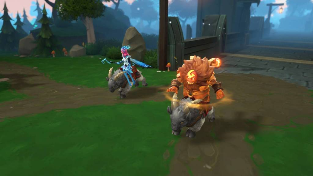 Screenshot from Battlerite Royale pc game