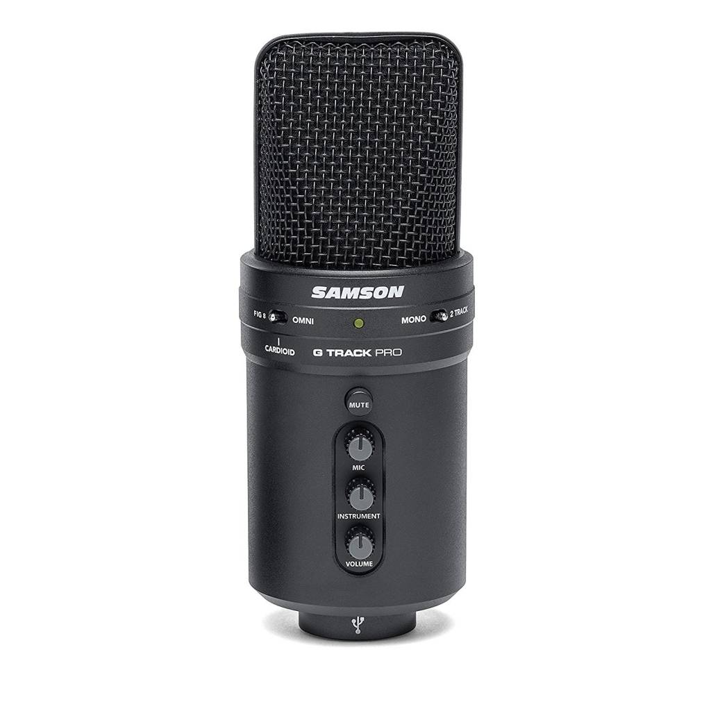Image of Samson microphone for streaming