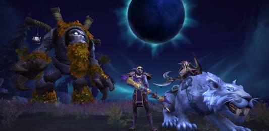 Screenshot from Darkshore Warfront in World of Warcraft