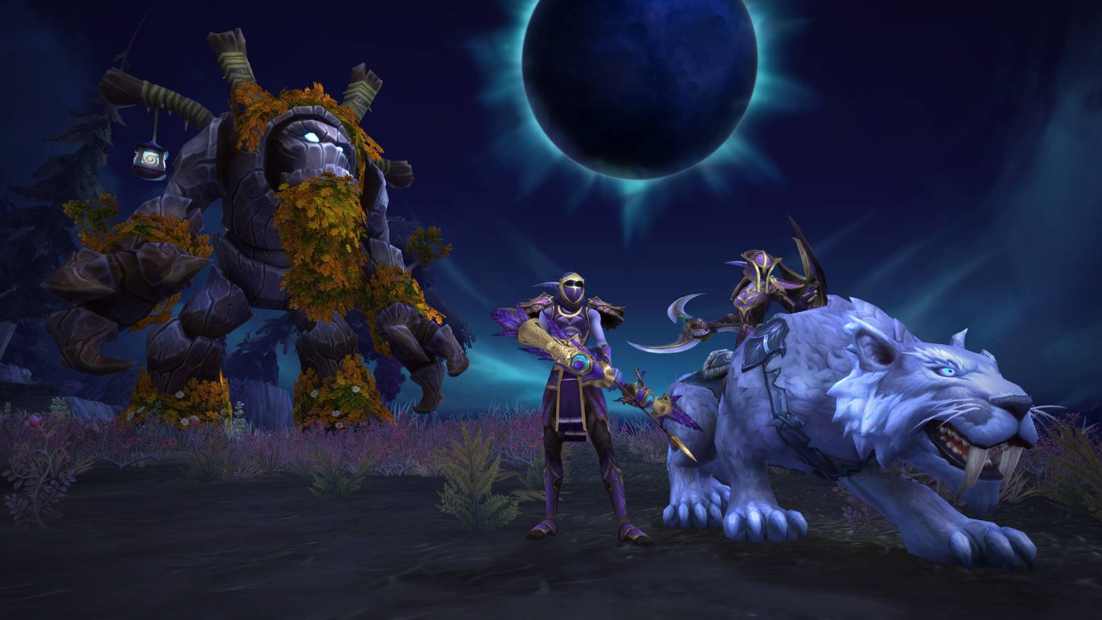 Screenshot from Darkshore Warfront in World of Warcraft