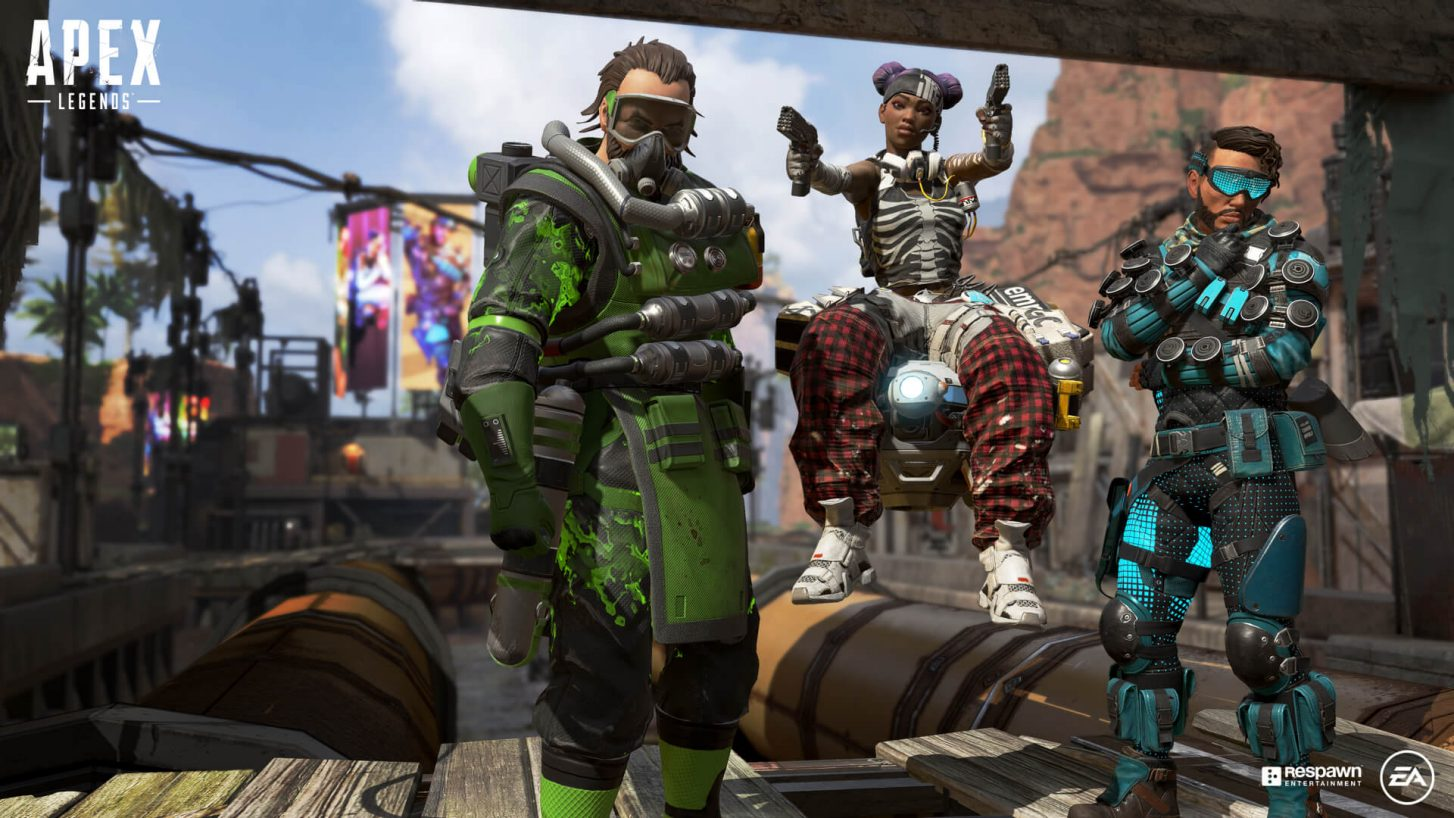 Screenshot from Apex Legends